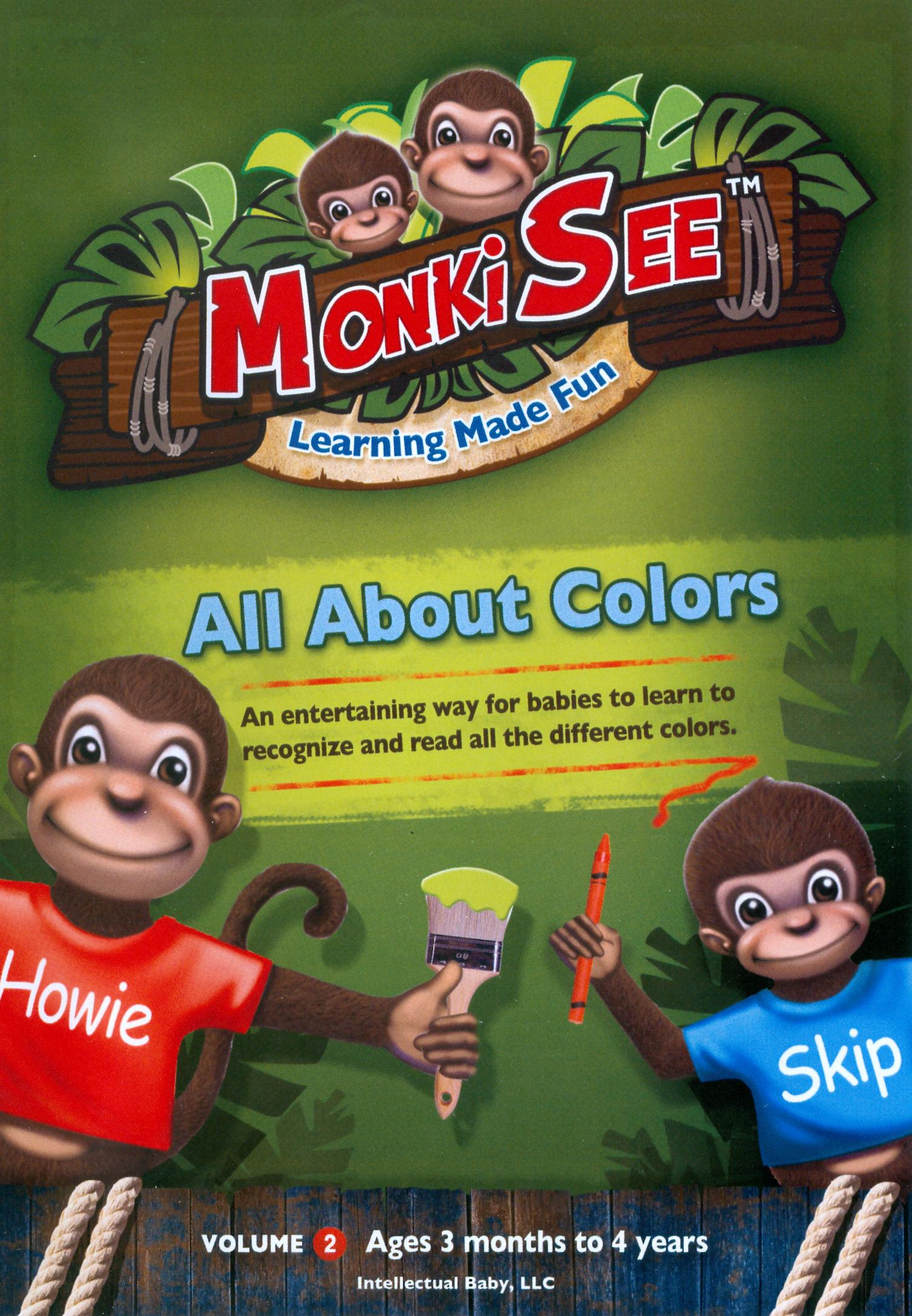 MonkiSee: All About Colors
