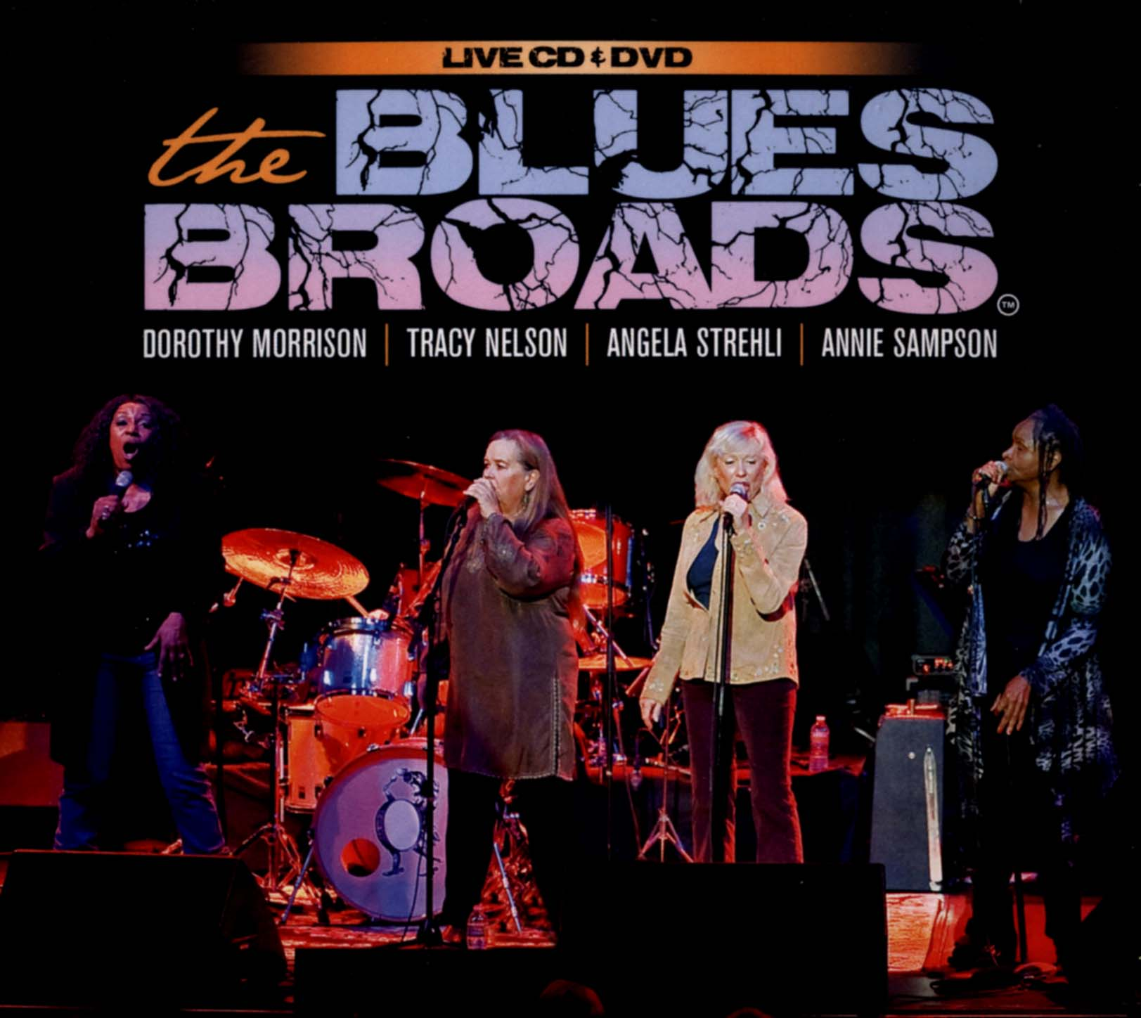The Blues Broads: Recorded Live from the Throckmorton Theatre - November 4, 2011