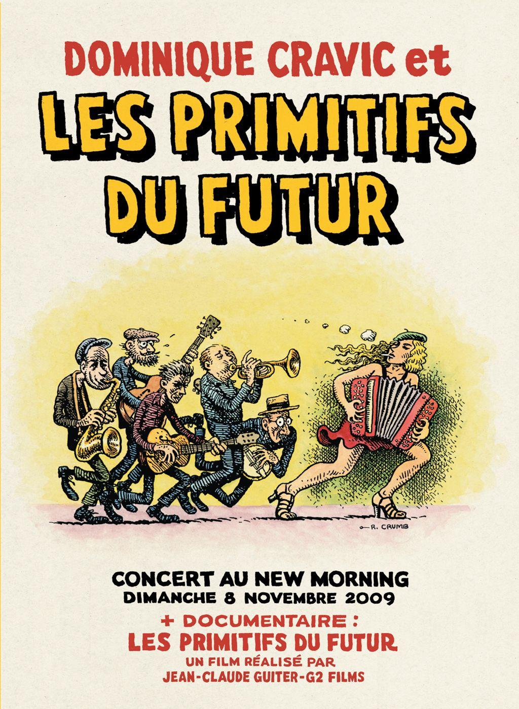 Dominique Cravic et les Primitifs du Futur: Concert au New Morning