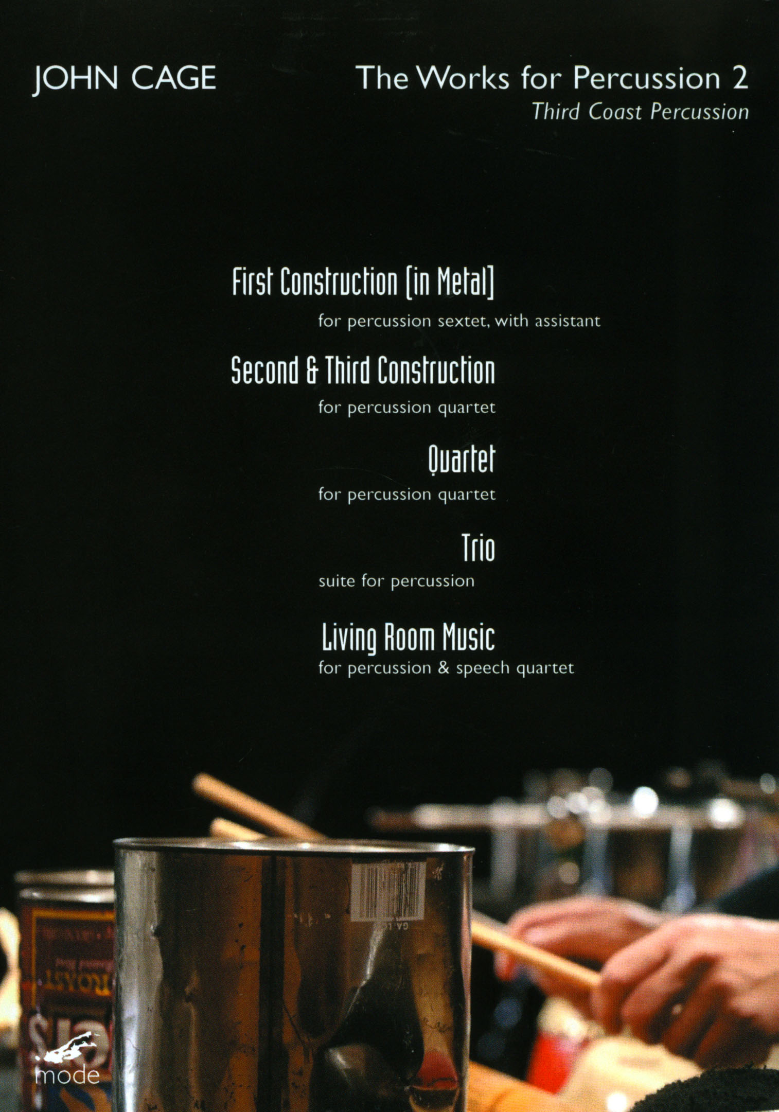 John Cage: The Works for Percussion, Vol. 2