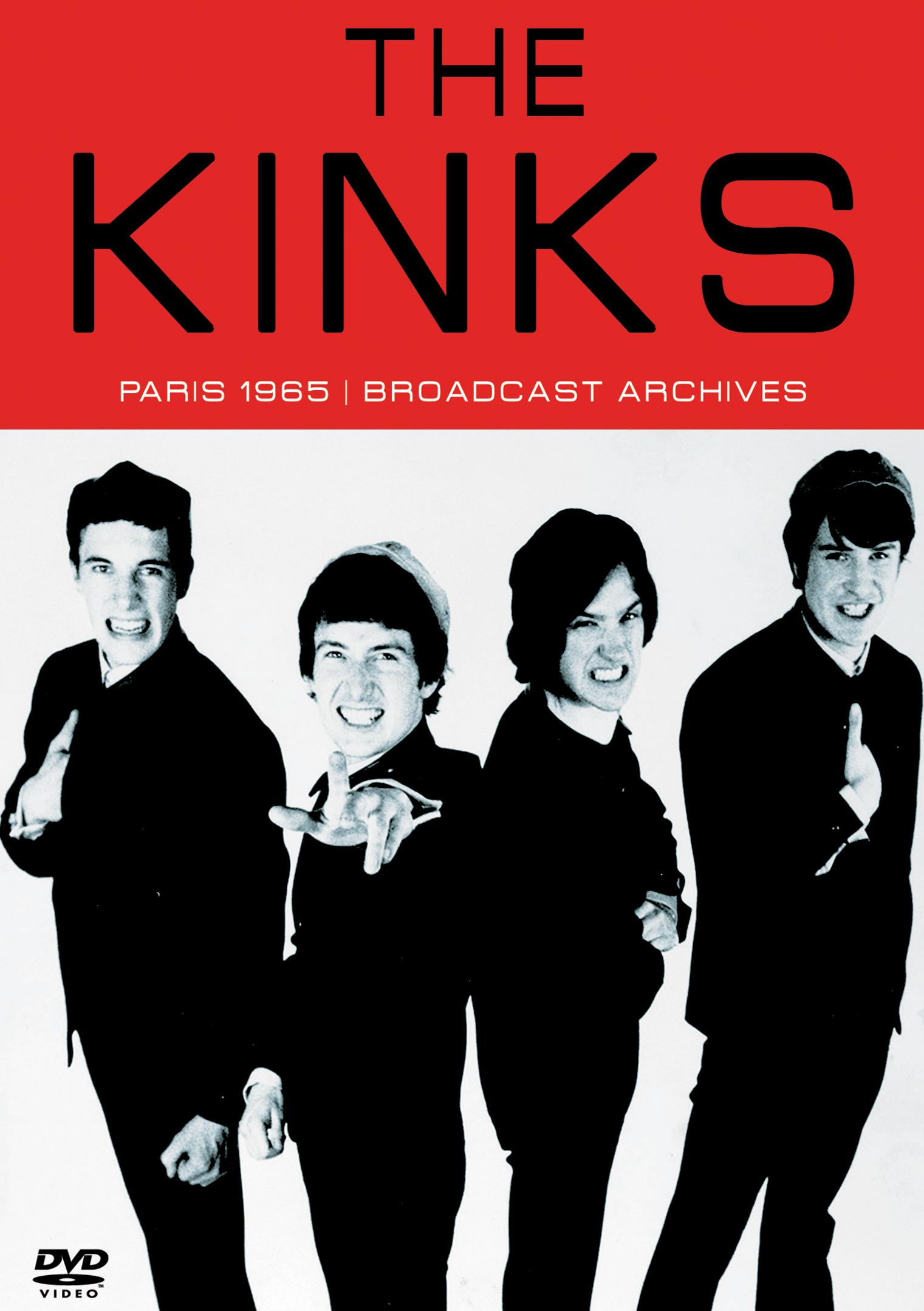 The Kinks: Paris 1965 - Broadcast Archives