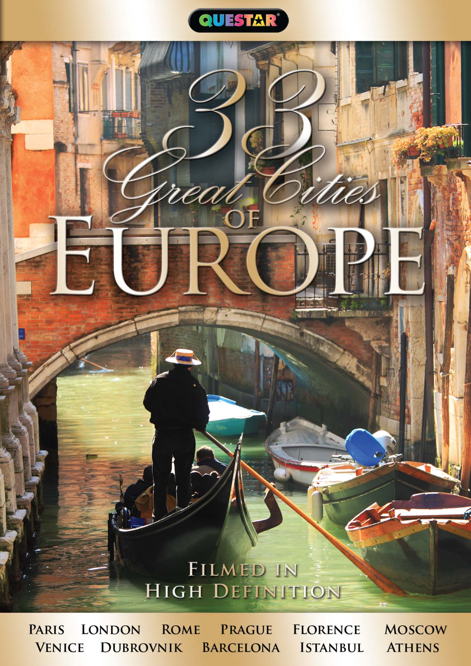 33 Great Cities of Europe