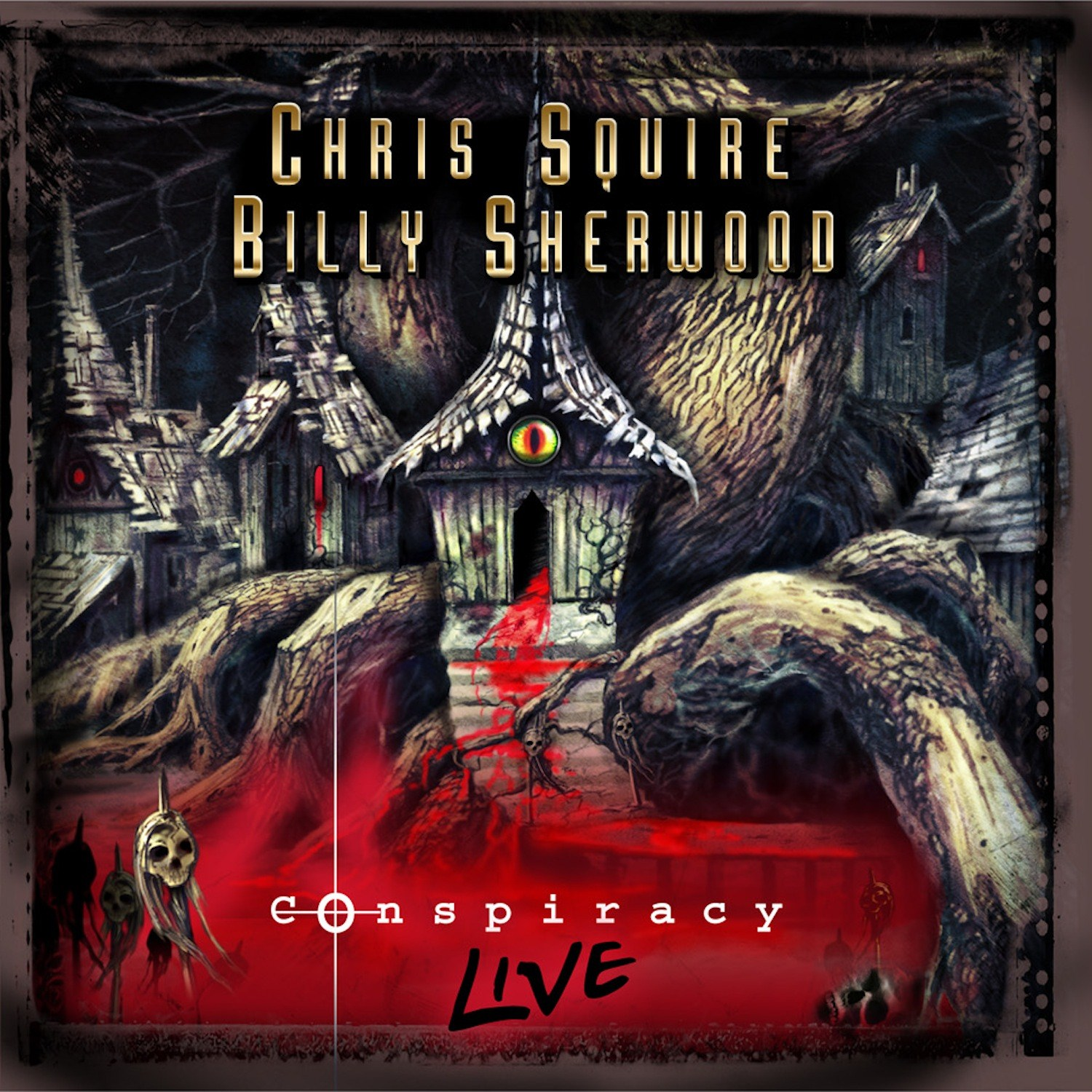 Chris Squire & Billy Sherwood: Conspiracy Live