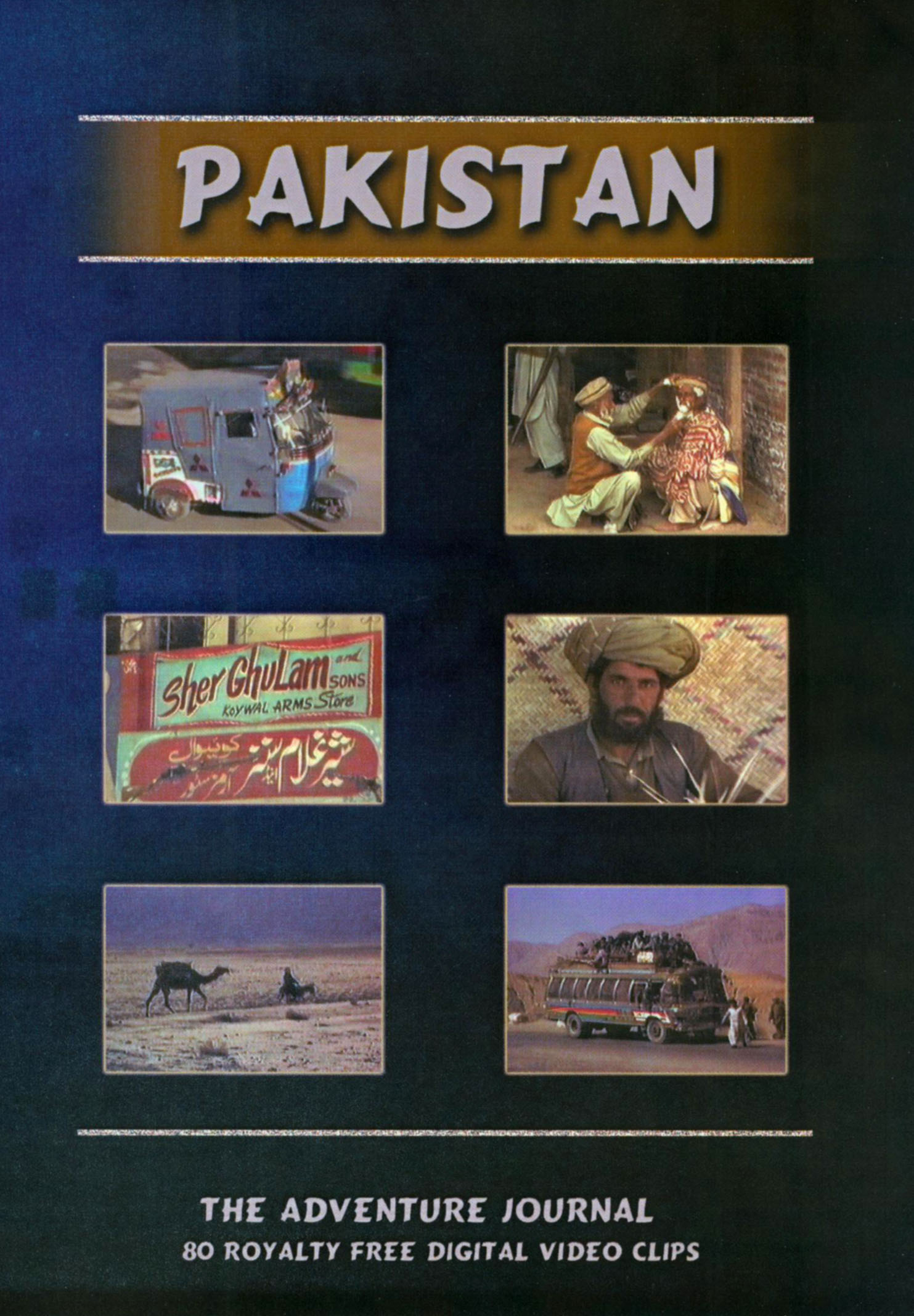 Pakistan: The Adventure Journal - 80 Royalty Free Digital Video Clips
