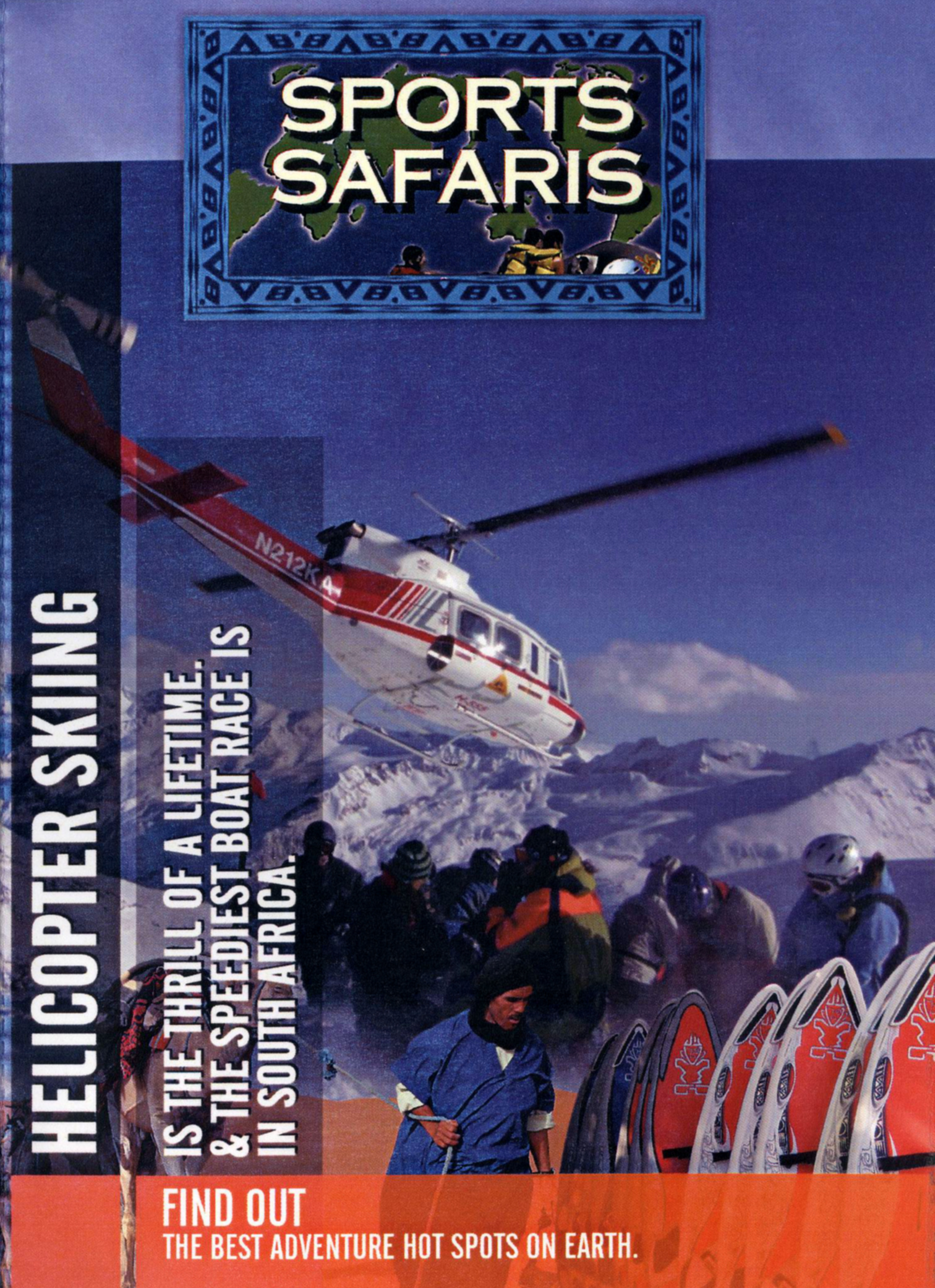 Sports Safaris: Helicopter Skiing