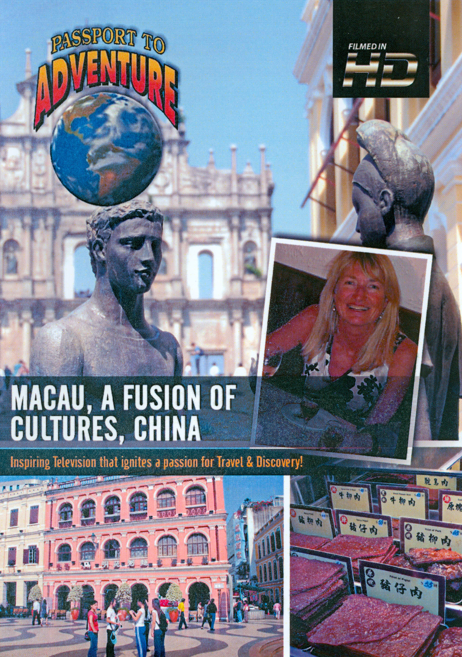 Passport to Adventure: Macau, A Fusion of Cultures, China