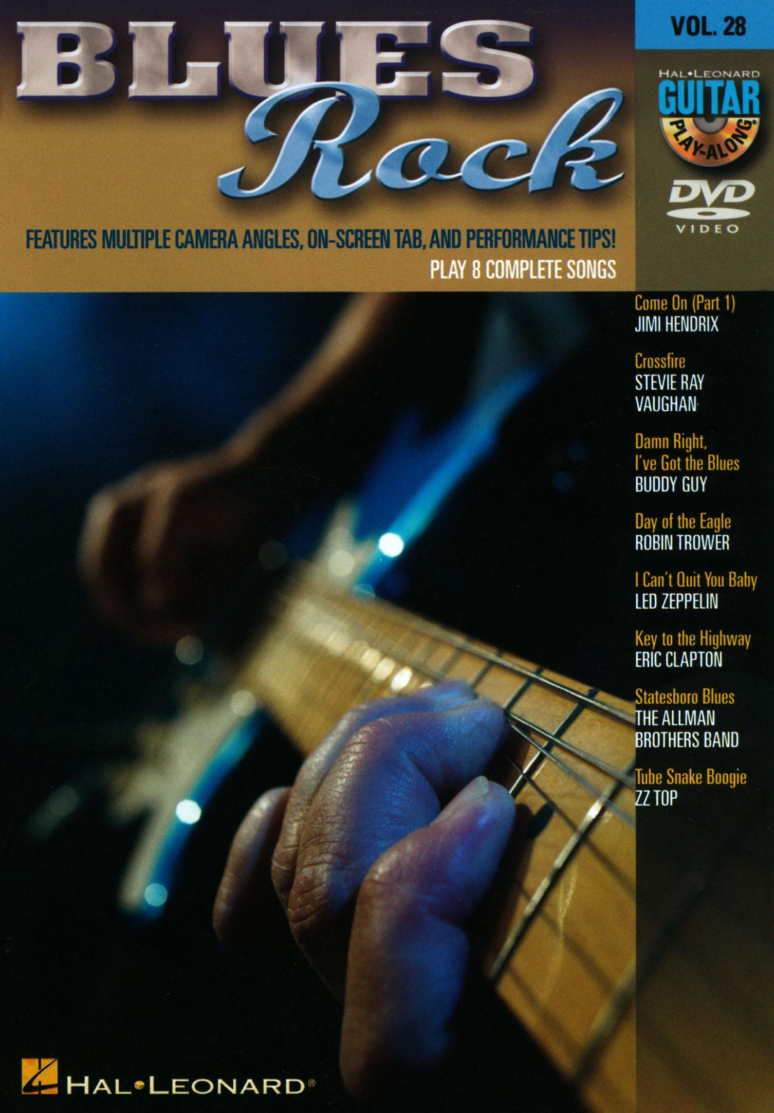 Guitar Play-Along, Vol. 28: Blues Rock