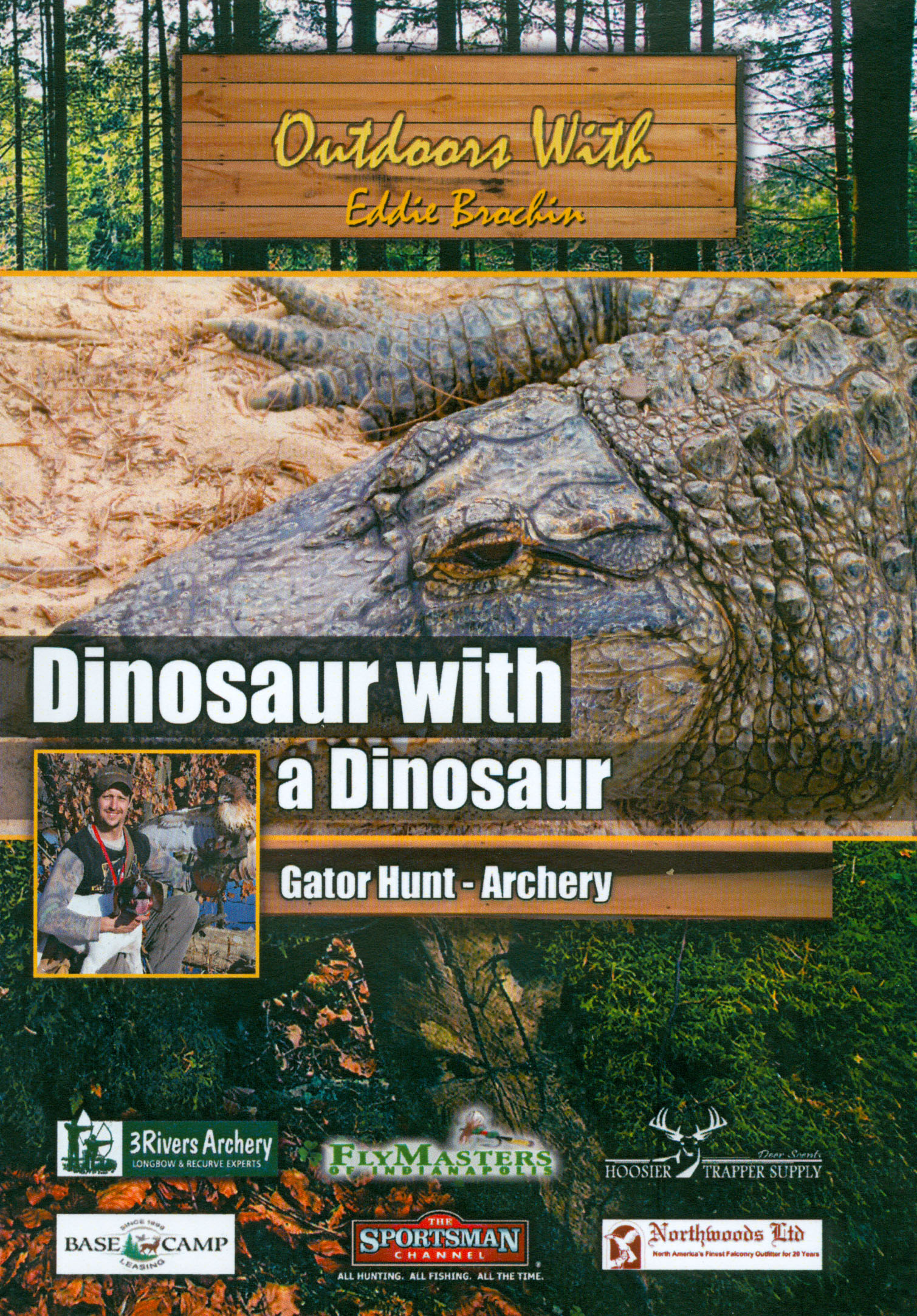 Outdoors With Eddie Brochin: Dinosaur With a Dinosaur