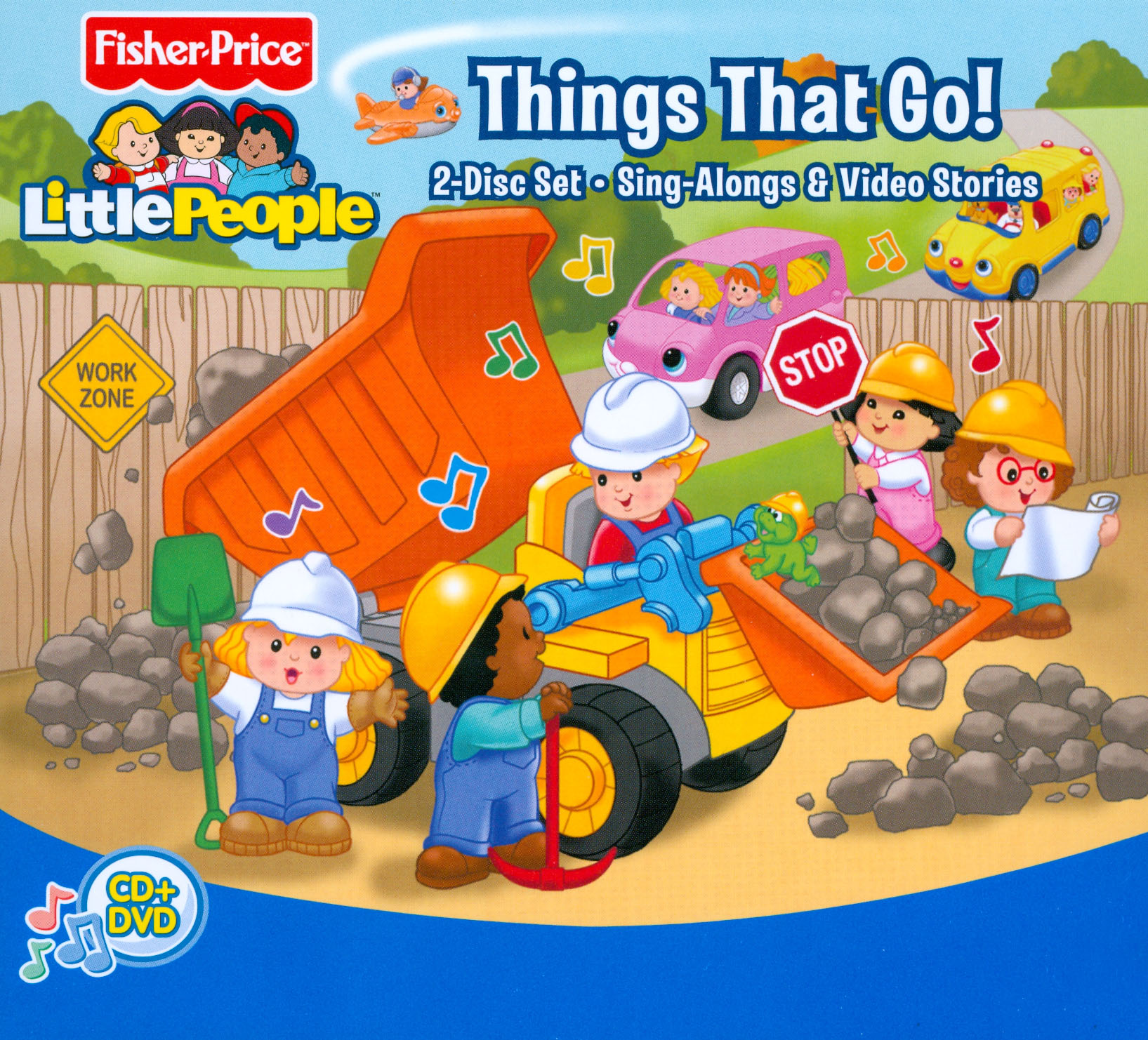 Little People: Discovering More Things That Go