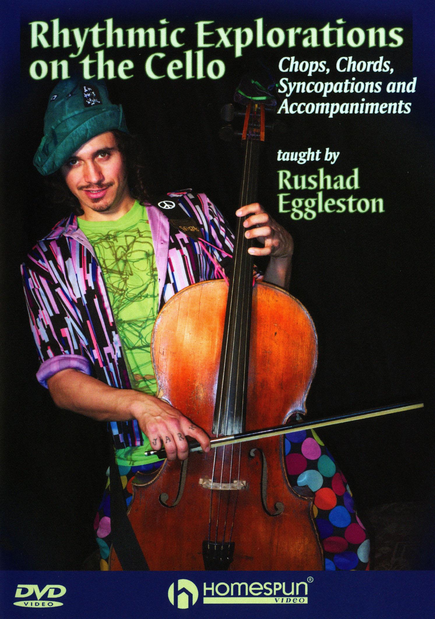 Rushad Eggleston: Rhythmic Explorations on the Cello