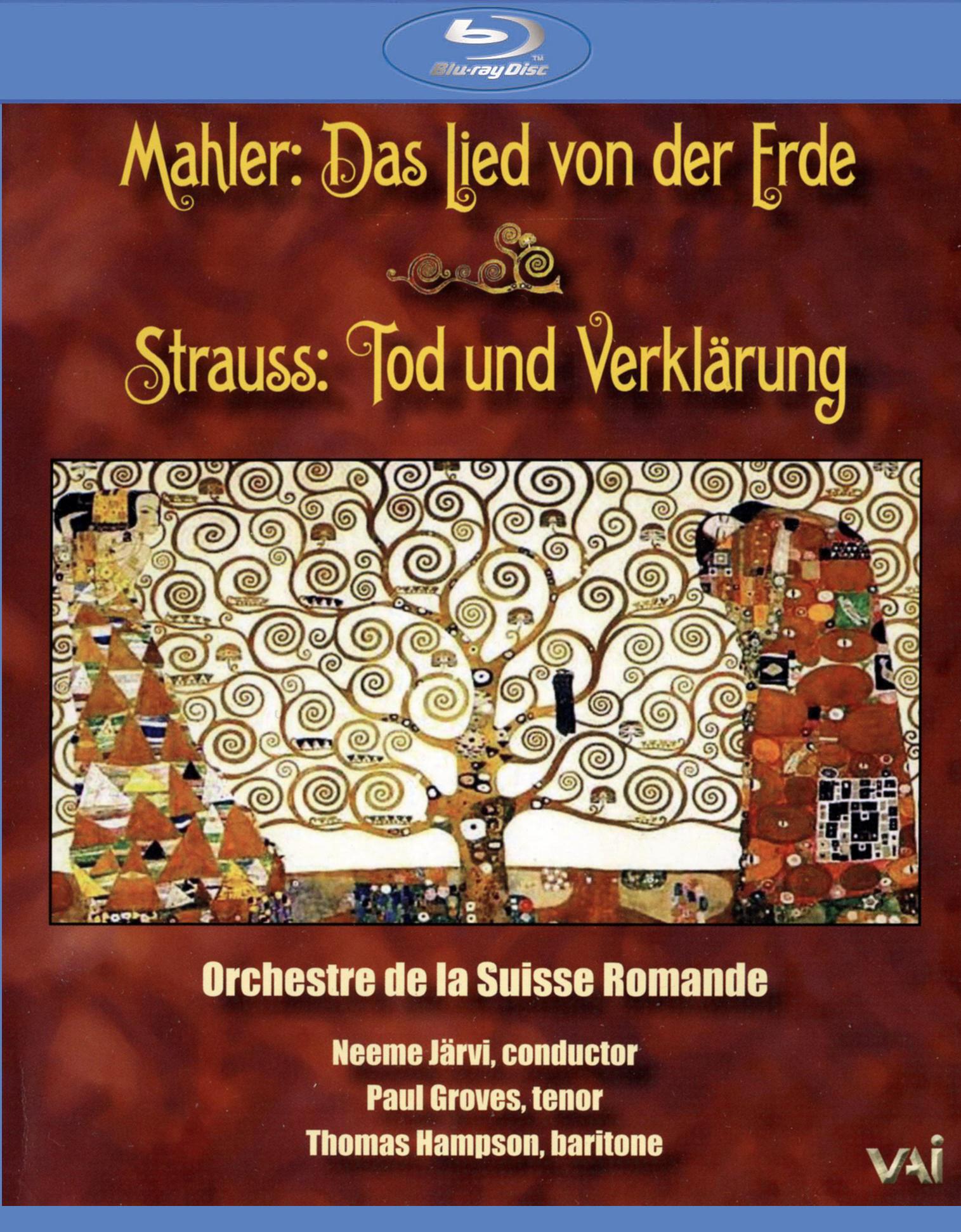 Orchestre de la Suisse Romande: Mahler - Das Lied von der Erde/Strauss - Tod und Verklarung