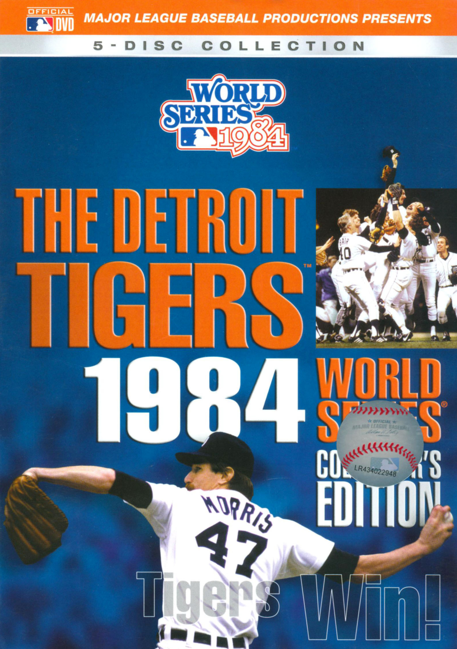 MLB: 1984 Detroit Tigers World Series
