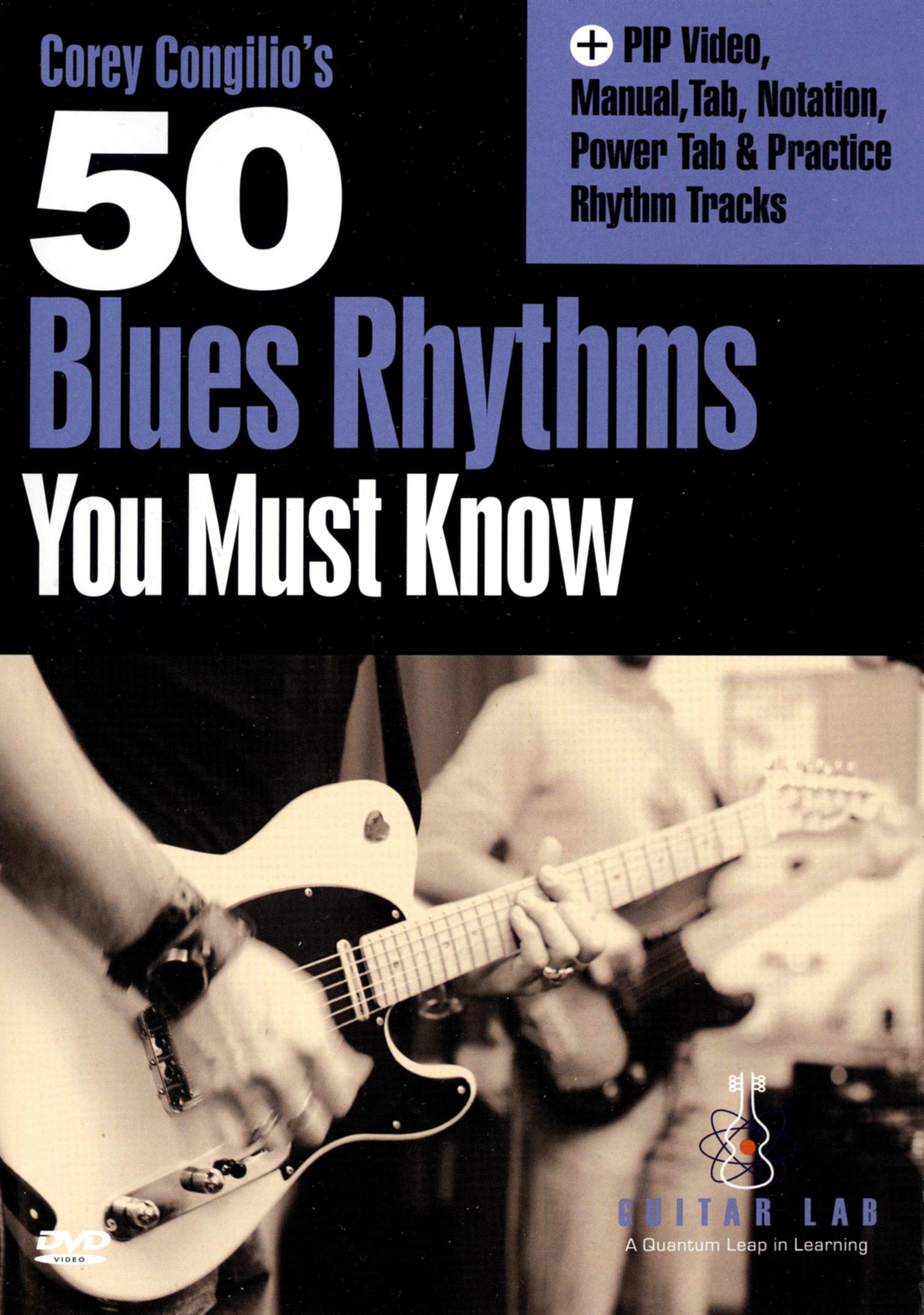 Corey Congilio's 50 Blues Rhythms You Must Know