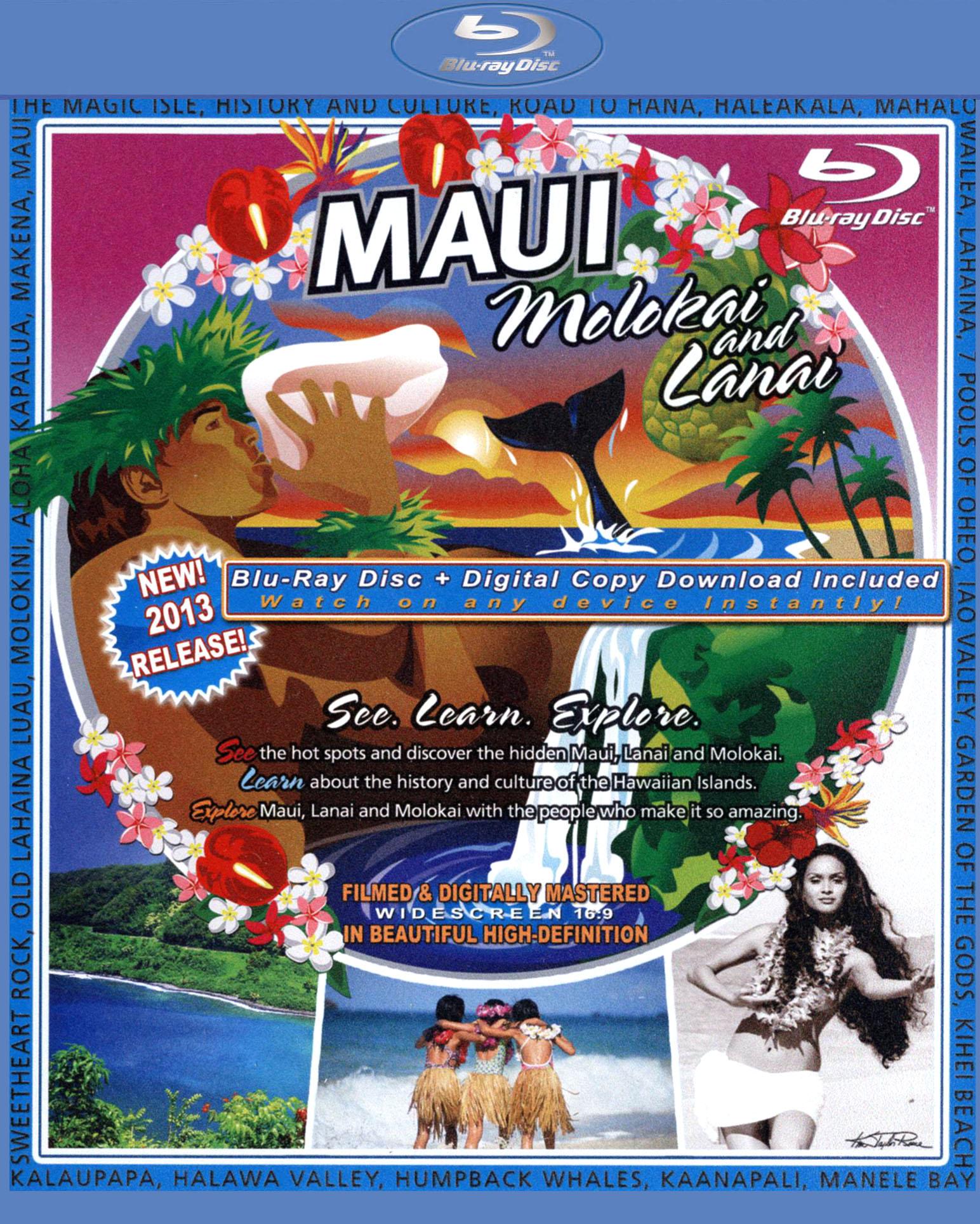 The Video Postcard of Maui, Molokai and Lanai