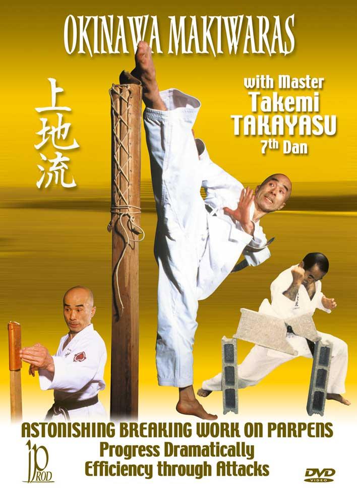 Okinawa Makiwaras with Master Takemi Takayasu