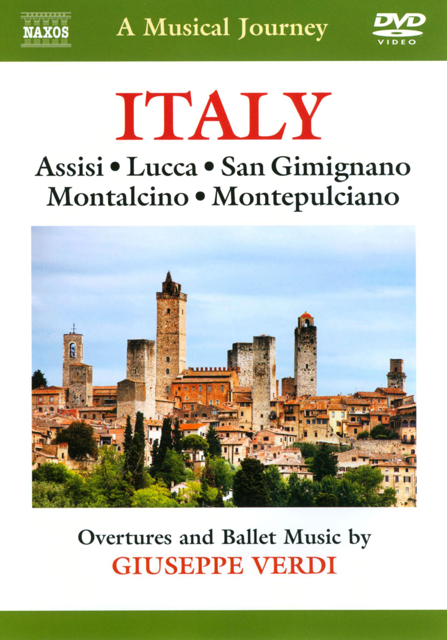 A Musical Journey: Italy - Assisi/Lucca/San Gimignano/Montalcino/Montepulciano