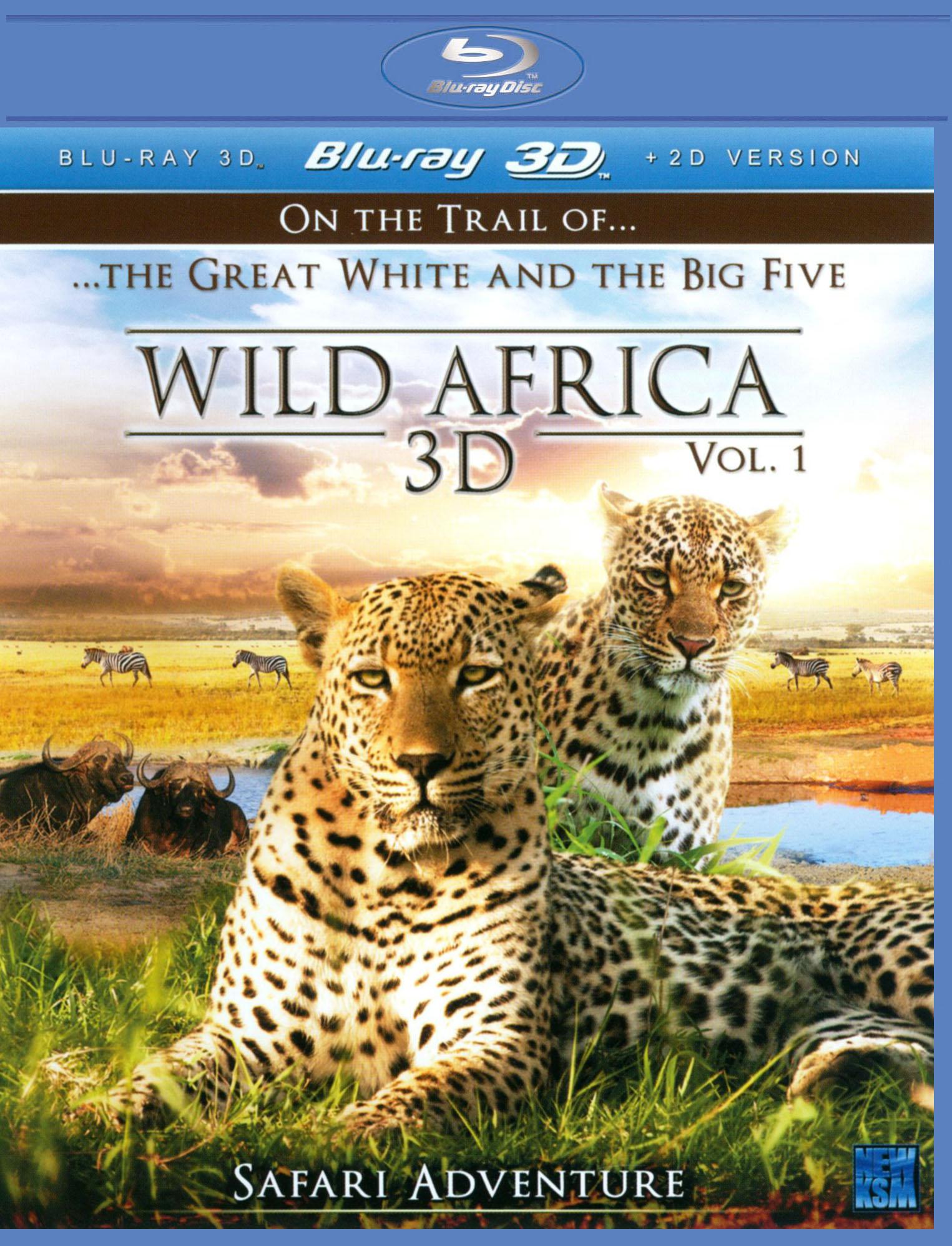 Wild Africa 3D, Vol. 1: Safari Adventure