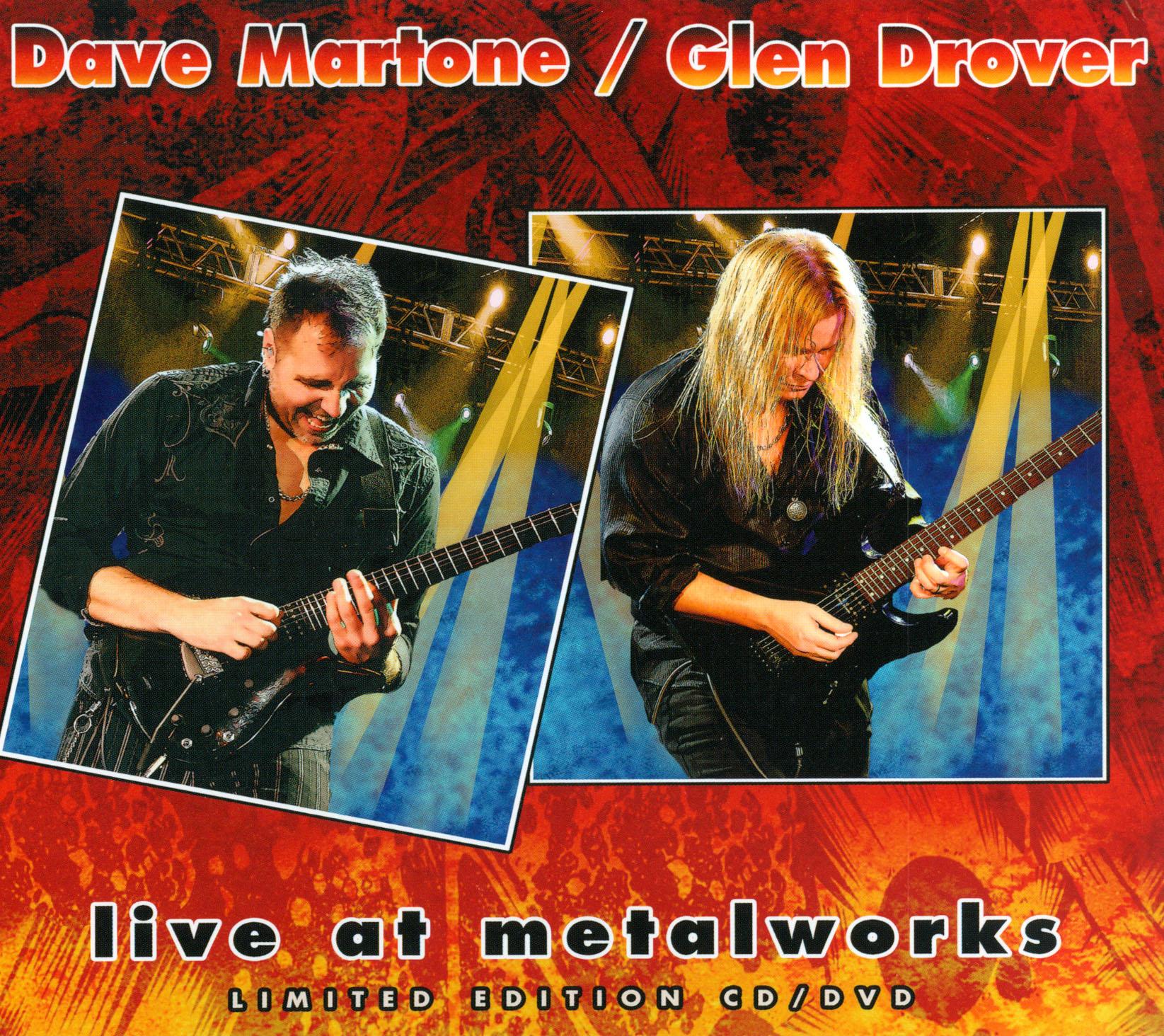 Dave Martone/Glen Drover: Live at Metalworks