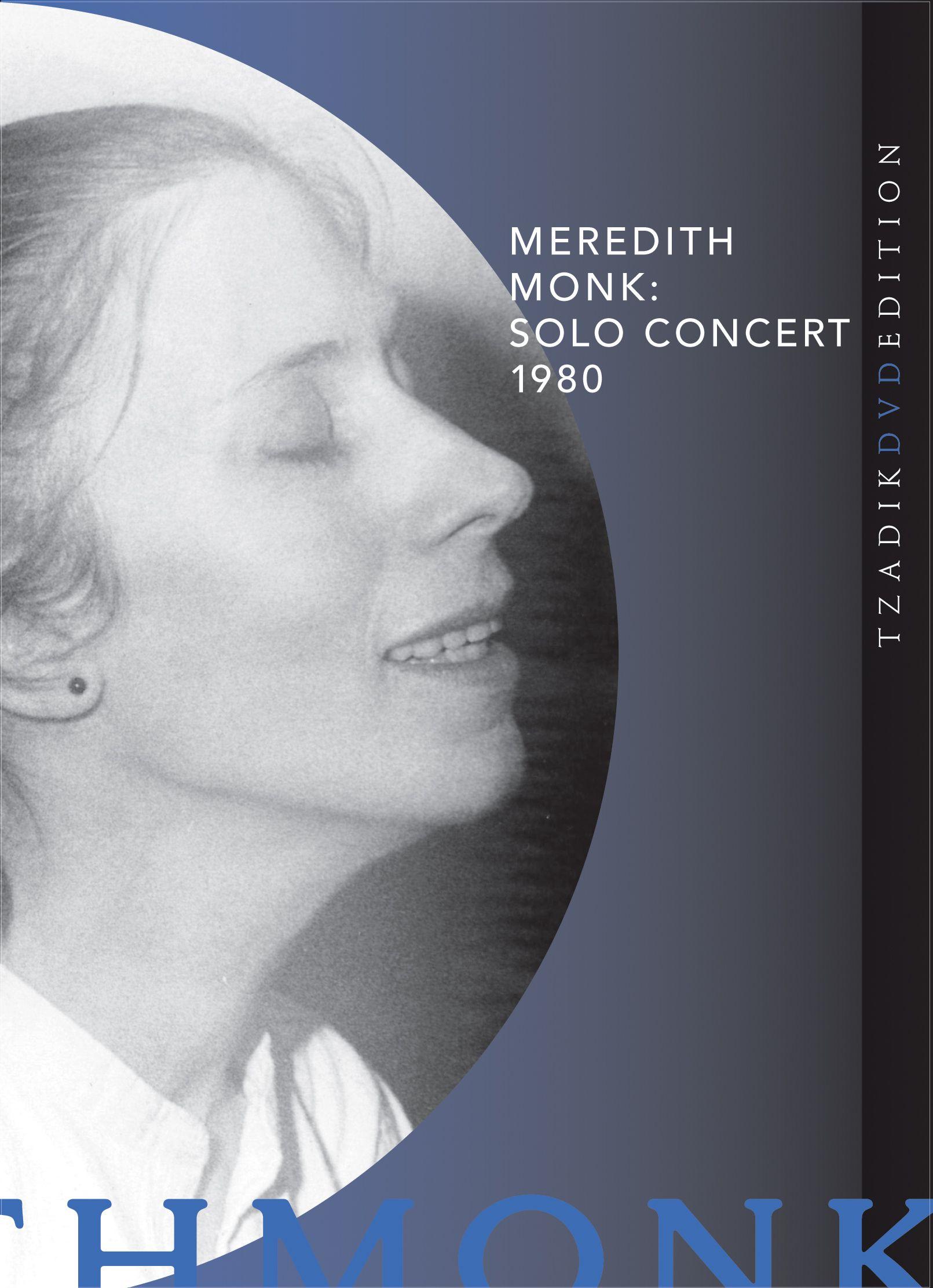 Meredith Monk: Solo Concert 1980