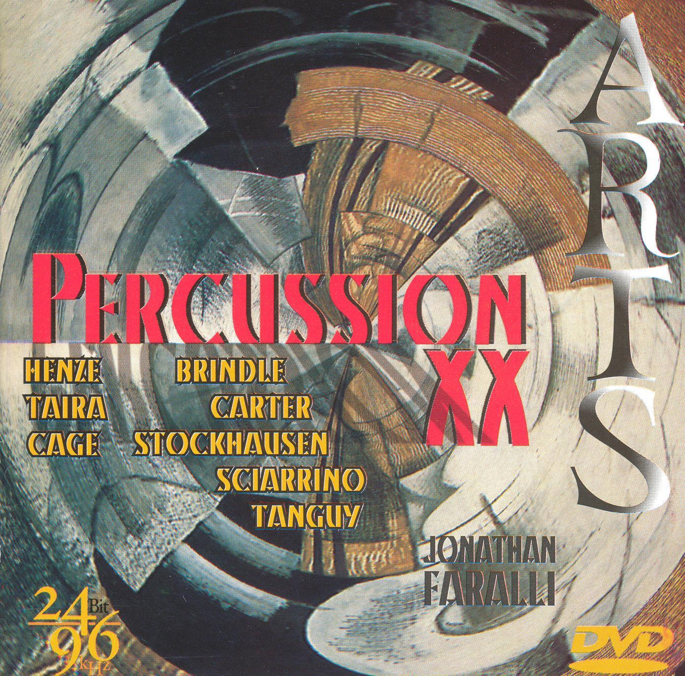 Jonathan Faralli: Percussion XX