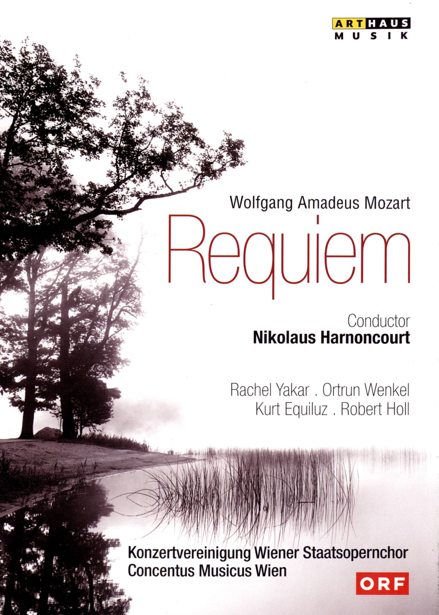 Nikolaus Harnoncourt/Concentus Musicus Wien: Mozart - Requiem