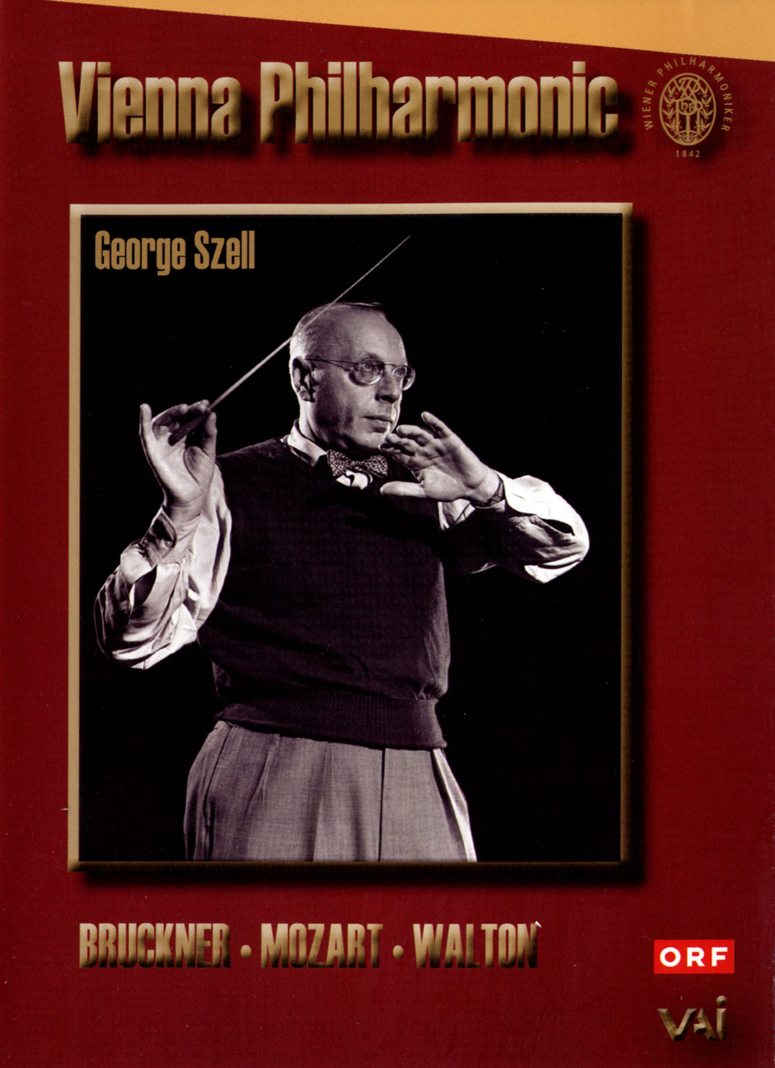 Vienna Philharmonic/George Szell: Bruckner/Mozart/Walton