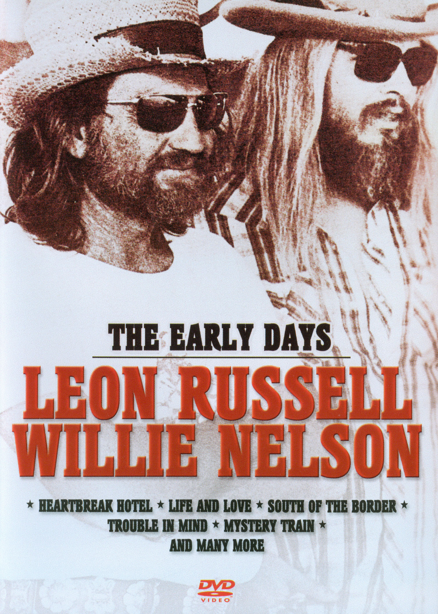 Leon Russell/Willie Nelson: The Early Days