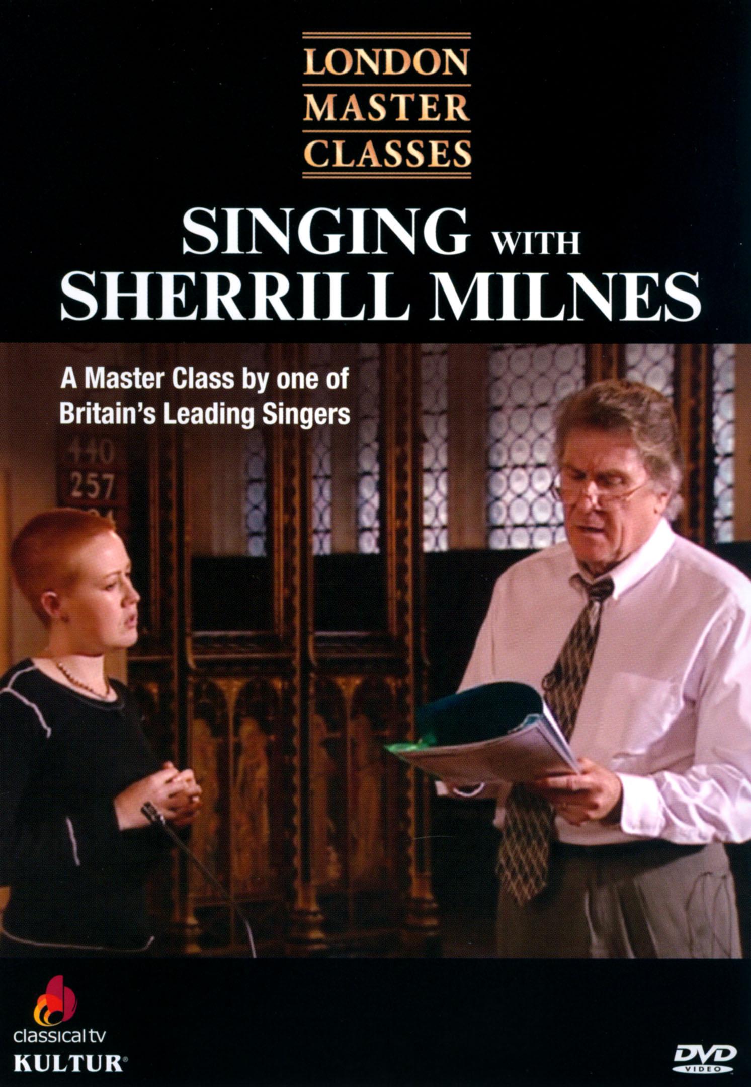 London Master Classes: Singing with Sherrill Milnes