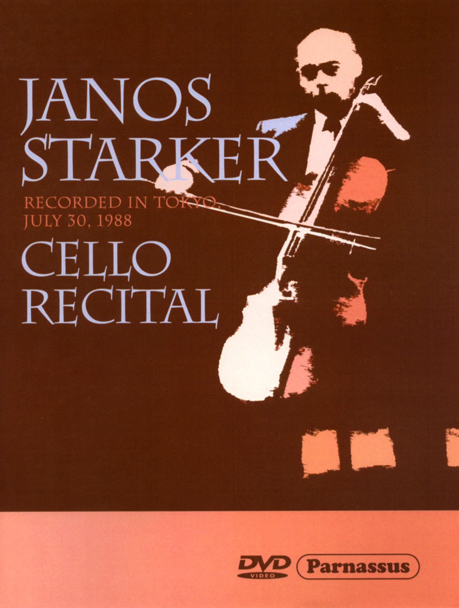 Janos Starker: Cello Recital
