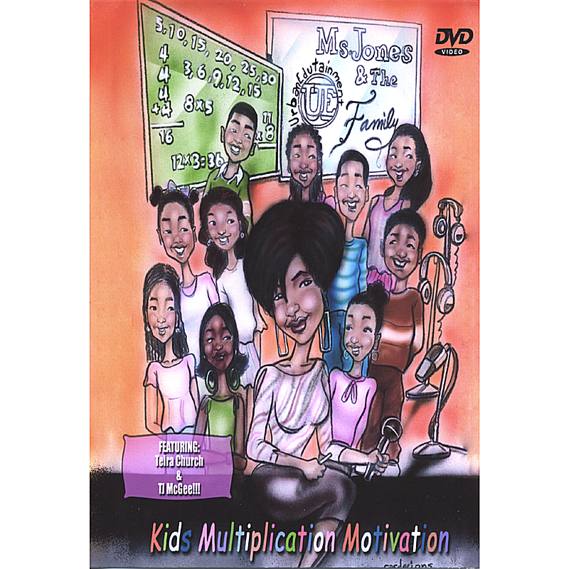 Ms. Jones & the U.E. Family: Kids Multiplication Motivation