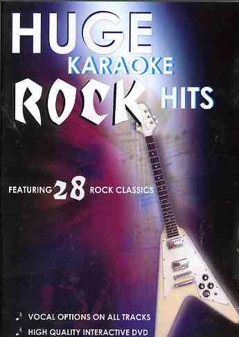 Huge Karaoke Rock Hits