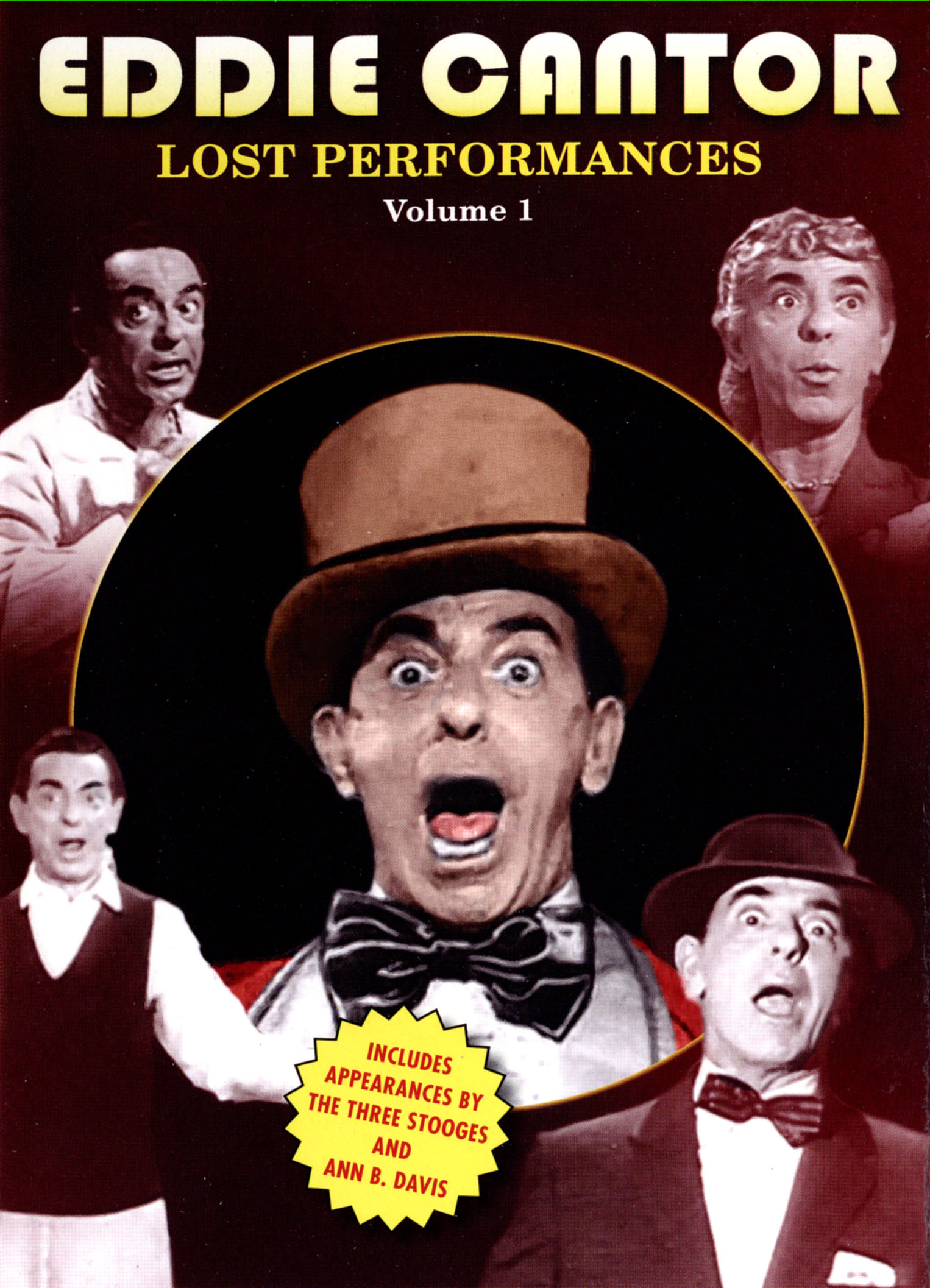 Eddie Cantor: The Lost Performances, Vol.1