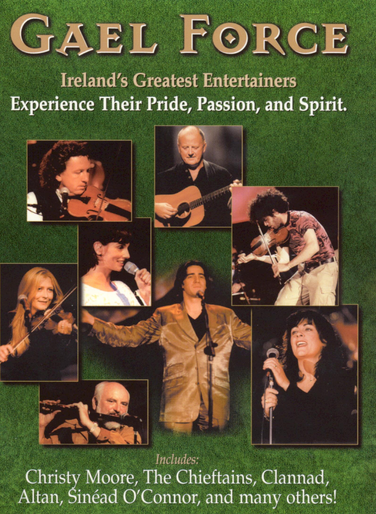 Live Concert of the Greatest Irish Artists Gaelforce