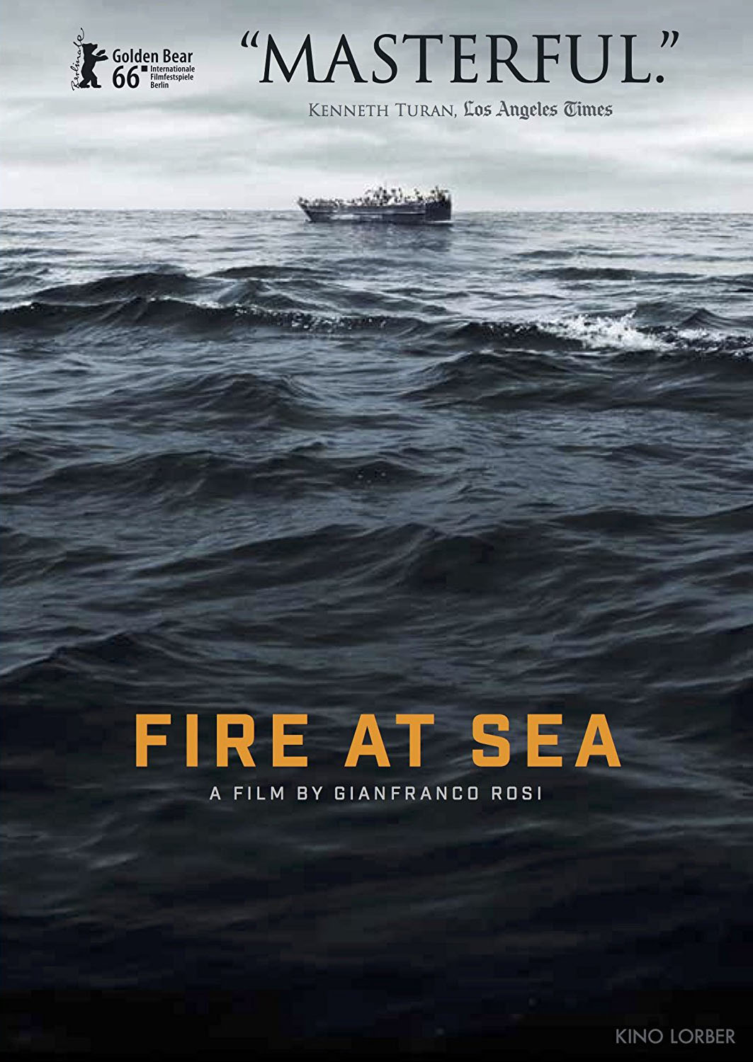 Fire at sea / Director, cinematography and sound: Gianfranco Rosi.