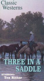 Three in the Saddle