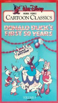 Donald Duck's First 50 Years: Walt Disney Cartoon Classics