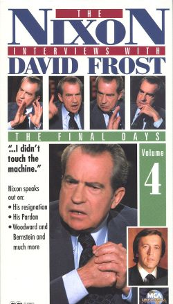 The Nixon Interviews with David Frost, Vol. 4: The Final Days