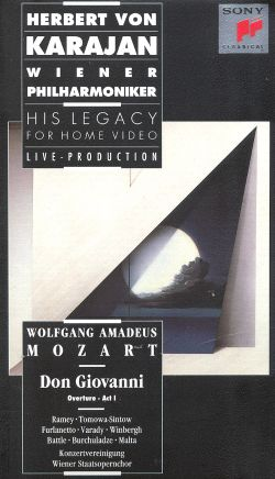 Herbert Von Karajan - His Legacy for Home Video: Don Giovanni