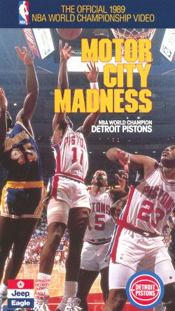 The Official 1989 NBA Championship: Detroit Pistons - Motor City Madness