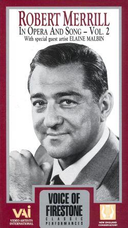 Voice of Firestone: Robert Merrill in Opera and Song, Vol. 2