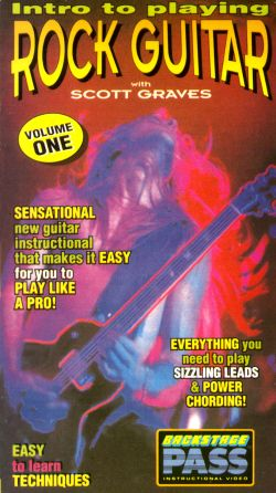 Intro to Playing Rock Guitar, Vol. 1