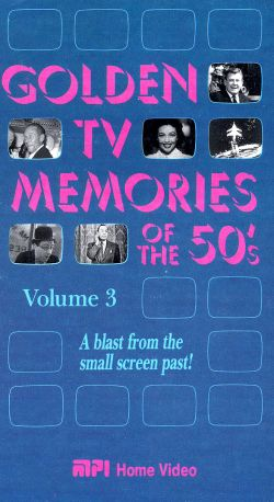 Golden TV Memories of the '50s, Vol. 3