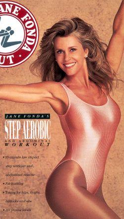 Jane Fonda: Step Aerobic & Abdominal Workout