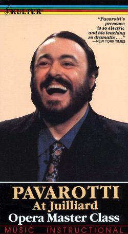 Pavarotti Master Class at Juilliard