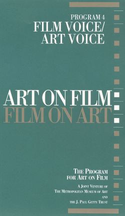 Art on Film/Film on Art, Program 4: Film Voice/Art Voice