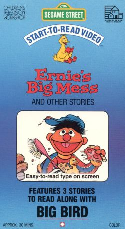 Sesame Street: Start-To-Read Video: Ernie's Big Mess