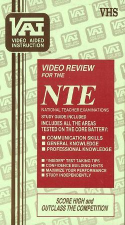 NTE/PRAXIS Review