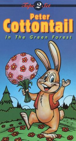 Peter Cottontail in the Green Forest