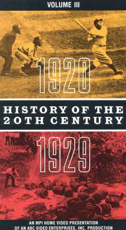 History of the 20th Century, Vol. 3: 1920-1929