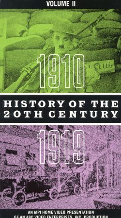 History of the 20th Century, Vol. 2: 1910-1919
